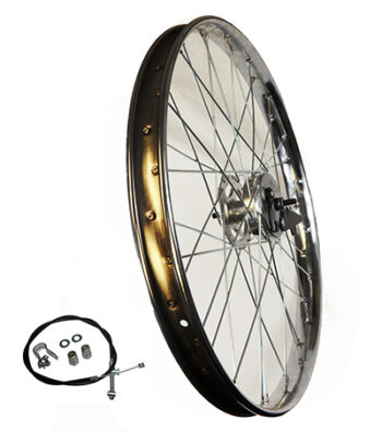 Suggested Front Wheel & Brake For Motorized Bicycles