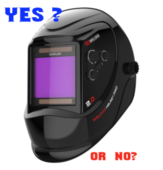 Welding Helmet Review Yeswelder M800H - Great For Flux Core, MIG & TIG