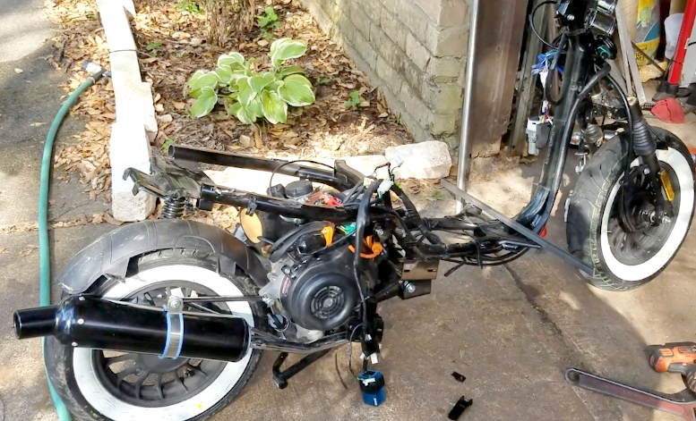 Custom 50cc Scooter Project