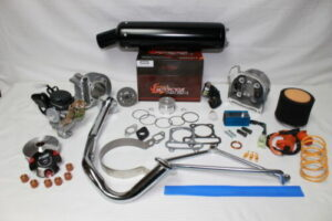 Performance Upgrade 80cc Big Bore Kit for 50cc Scooter