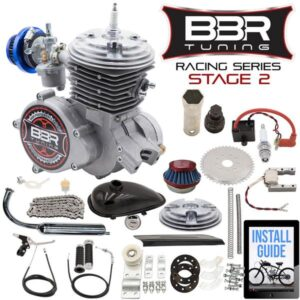 BBR Tuning Racing Series Stage 2 66/80cc 2-Stroke Engine Kit