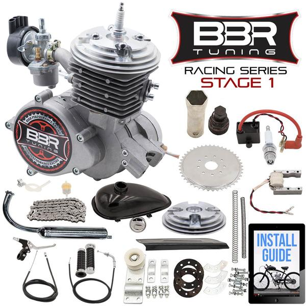 BBR Tuning Racing Series Stage 1 66/80cc 2-Stroke Engine Kit