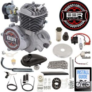 66/80cc BBR Tuning Angle Fire Bicycle Engine Kit
